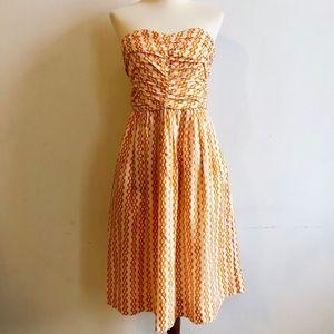 TAKE 50% OFF! NWOT Vanessa Virginia Print Dress